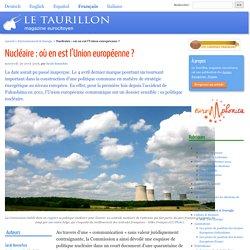 Nucléaire : où en est l'Union européenne