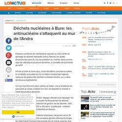 Déchets nucléaires à Bure: les antinucléaire s'attaquent au mur de l'Andra
