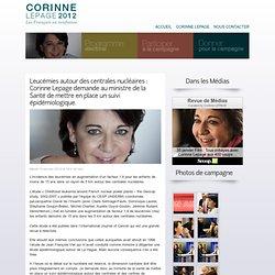 Leucémies autour des centrales nucléaires : Corinne Lepage demande au ministre de la Santé de mettre en place un suivi épidémiologique.