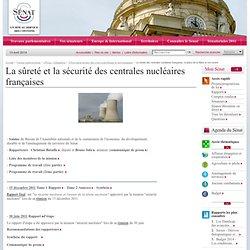 La sûreté des centrales nucléaires françaises, la place de la filière et son avenir