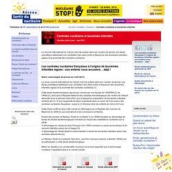 Centrales nucléaires et leucémies infantiles