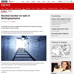 Nuclear bunker on sale in Nottinghamshire - BBC News