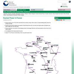 Nuclear Power in France | French Nuclear Energy