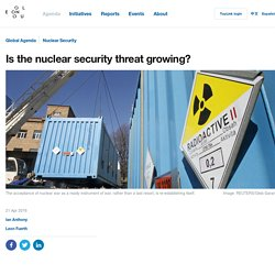 Is the nuclear security threat growing?