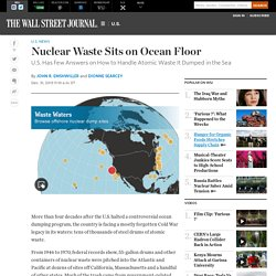 Nuclear Waste Sits on Ocean Floor