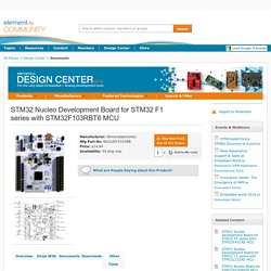 STM32 Nucleo Development Board for STM32 F1 ser...