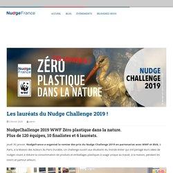 Les lauréats du Nudge, Challenge 2019 / NudgeFrance, janv 2020