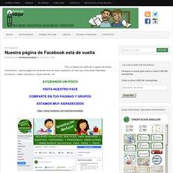 Nuestra página de Facebook está de vuelta -Orientacion Andujar