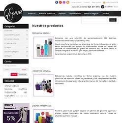 Nuestros productos - Essenzza