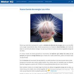 Nueva fuente de energía: Los niños