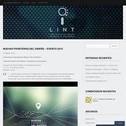 Nuevas Fronteras del Diseño – Evento 2015