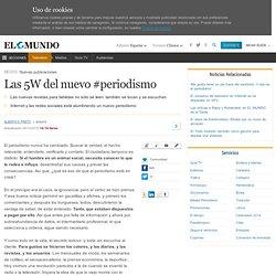 Las 5W del nuevo #periodismo