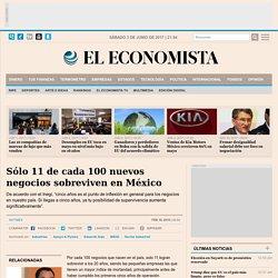 Sólo 11 de cada 100 nuevos negocios sobreviven en México