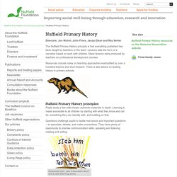 Primary History - Home - primaryhistory