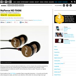 NuForce NE-700M/X Earphones | Product Reviews