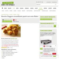 Nuggets croustillants panés aux corn-flakes : la recette