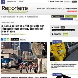 Le TAFTA aurait un effet nuisible sur l'économie européenne, démontrent deux études