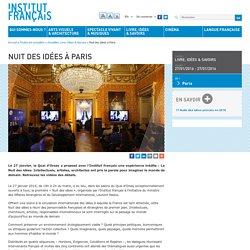 Nuit des idées à Paris