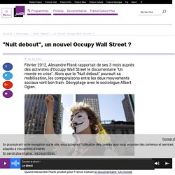 """Nuit debout"", un nouvel Occupy Wall Street ?"