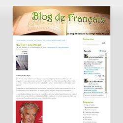 """""""La Nuit"""", Elie Wiesel - Blog de français de Pablo"""