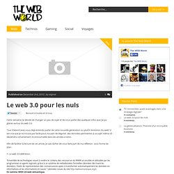 The web world – Le Blog des extraternets