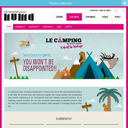 Le Camping – Kick off for Startups