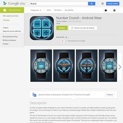 Number Crunch - Android Wear