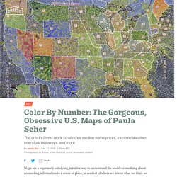 Color By Number: The Gorgeous, Obsessive U.S. Maps of Paula Scher