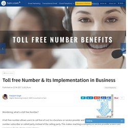 Toll free Number & Its Implementation in Business