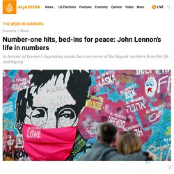 Number-one hits, bed-ins for peace: John Lennon's life in numbers