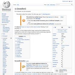 11 (number)