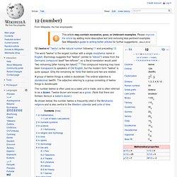 12 (number)