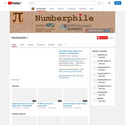 numberphile's Channel