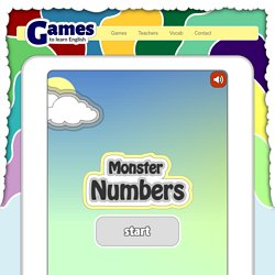 Numbers - English Game