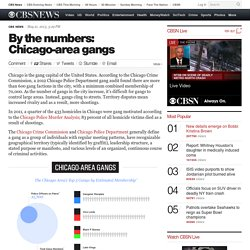 By the numbers: Chicago-area gangs