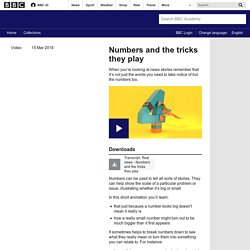 Numbers and the tricks they play - BBC Academy