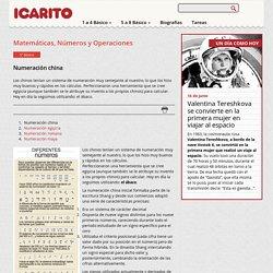 Numeración china Icarito