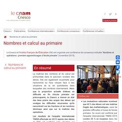 Numération-conférence de consensus