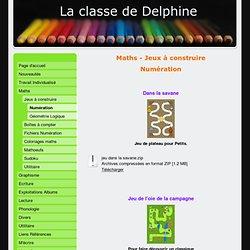 La classe de Delphine, maths