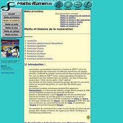 HISTOIRE DE LA NUMERATION : Maths-rometus, Numération, Babylone, Egypte, Chine, Grèce, Mayas, Romains, Mathématiques, Maths, Math, Jean-Luc Romet