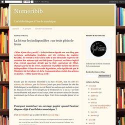 La loi sur les indisponibles : un texte plein de trous