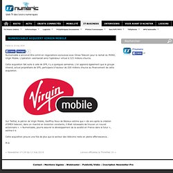 Numericable acquiert Virgin Mobile