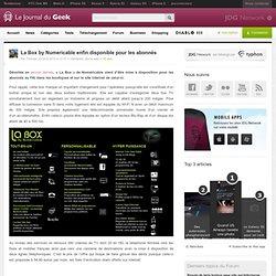 La Box by Numericable enfin disponible pour les abonnés