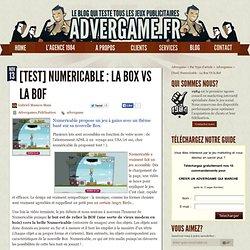 Numericable utilise un advergame pour promouvoir sa nouvelle BOX