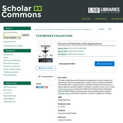 """Numerical Methods with Applications"" by Autar K. Kaw, Egwu K. Kalu et al."