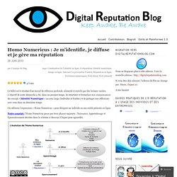 Naissance et gestion de l'identité numérique - Digital Reputation Blog