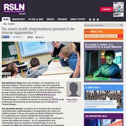 REGARDS SUR LE NUMERIQUE: Blog - Un cours truffé d'animations permet-il de mieux apprendre ? RSLNmag est édité par Microsoft et se consacre à l'analyse et au décryptage du monde numérique..