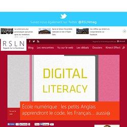 École numérique : les petits Anglais apprendront le code, les Français... aussi