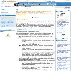 L'image numérique au service des apprentissages en EPS - Tutoriels Kinovea- Education physique et sportive
