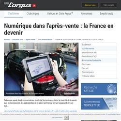 Numérique dans l'après-vente : la France en devenir – L'argus PRO